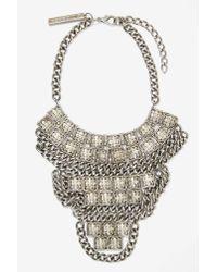 GOLDBARR | Metallic Corsica Necklace | Lyst