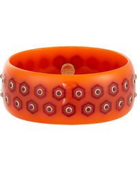 Mark Davis | Orange Women's Honey Bangle | Lyst