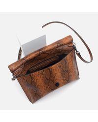 Zara | Natural Combined Clutch Bag | Lyst