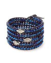 Nakamol | Blue Brilliant Wrap Bracelet-cobalt | Lyst