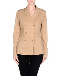 Dondup - Natural Blazer - Lyst