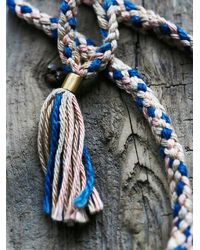 Free People | Multicolor Gamma Folk Womens Sun Ray Necklace | Lyst