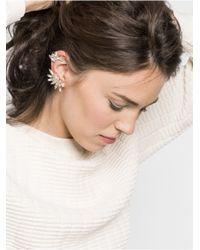 BaubleBar | White Asymmetrical Tinkerbell Ear Cuff | Lyst