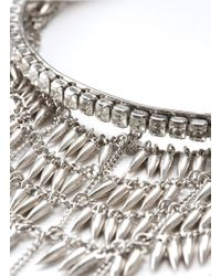 Erickson Beamon | The Shining Crystals And Metallic Dangling Spikes Choker | Lyst