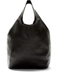 J.W.Anderson - Black Leather Grande Loop Tote Bag - Lyst