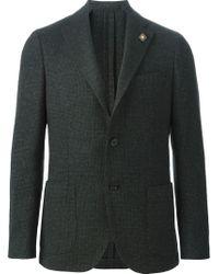 Lardini - Green Two Button Blazer for Men - Lyst