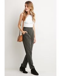 Forever 21 | Black Classic Pocket Trousers | Lyst