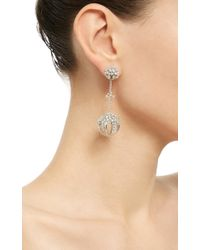 Paul Morelli | Metallic Mixed Diamond Cluster Sphere Drop Earrings | Lyst