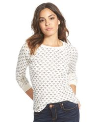 Billabong - White 'don't You Know' Thermal Tee - Lyst
