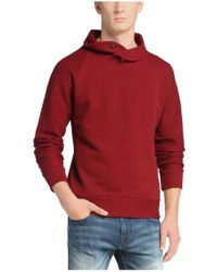 BOSS Orange | Red 'wawy' | Cotton Terry Sweatshirt for Men | Lyst