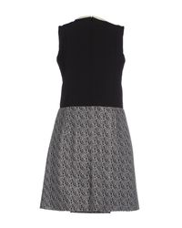 Carven - Sleeveless Dress - Black - Lyst