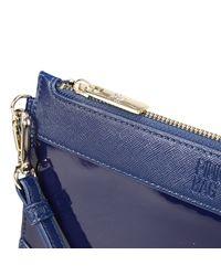 Pinko | Blue Clutch Woman | Lyst