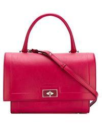 Givenchy | Red Small 'shark' Tote | Lyst