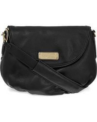 Marc Jacobs | Black New Q Natasha Leather Cross-body Bag | Lyst