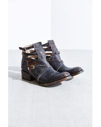 Freebird by Steven - Black Stair Ankle Boot - Lyst