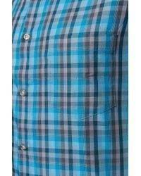 BOSS Green | Blue 'c-bowa' | Regular Fit, Cotton Button Down Shirt for Men | Lyst