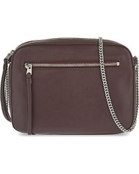 AllSaints | Purple Chain Cross Body | Lyst
