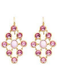 Astley Clarke - Purple Amethyst Lydian Chandelier Earrings - Lyst