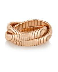 Sidney Garber - Metallic Rolling 18-Karat Rose Gold Interlinked Bracelet - Lyst