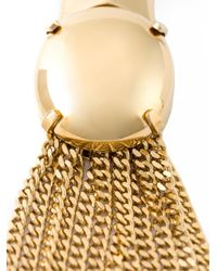 Chloé | Metallic 'delfine' Necklace | Lyst