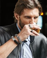 John Hardy - Metallic Mens Lava Eagle Head Ring for Men - Lyst