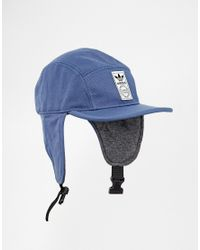 a7ded88e28aaf adidas Trapper Cap in Blue for Men - Lyst
