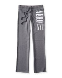 Aéropostale | Gray Aero Nyc Lace Classic Sweatpants | Lyst
