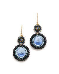 Miguel Ases | Sea Earrings Blue Multi | Lyst