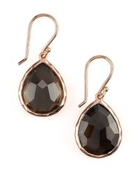 Ippolita - Green Rose Teardrop Earrings - Lyst
