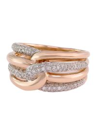 Effy | Pink Diamond And 14k Yellow Gold Ring, 0.54 Tcw | Lyst