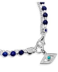 Astley Clarke - Royal Blue Evil Eye Biography Bracelet - Lyst