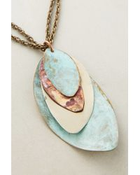 Sibilia - Blue Fiorella Pendant Necklace - Lyst