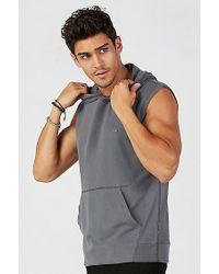 True Religion   Gray Pullover Sleeveless Mens Hoodie for Men   Lyst