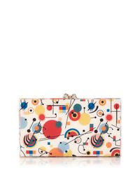 Charlotte Olympia - Multicolor Kandinsky Printed Pandora Clutch Bag - Lyst