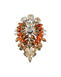 DSquared² | Orange Brooch | Lyst
