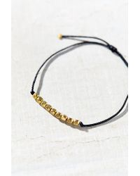 Urban Outfitters - Black Everyday Layering Bracelet - Lyst