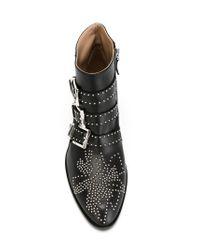 Chloé - Black Susanna Boots - Lyst