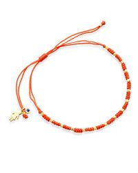 Astley Clarke | Orange Little Wonders Girl Skinny Bracelet | Lyst