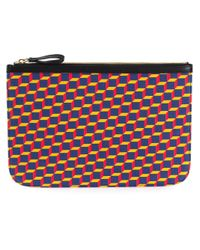 Pierre Hardy - Multicolor 'Cube' Clutch for Men - Lyst