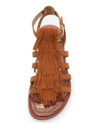 c25779fd963629 Sam Edelman. Women s Estelle Fringe Sandals