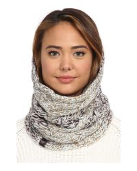 UGG - Brown Grand Meadow Novelty Cable Snood - Lyst
