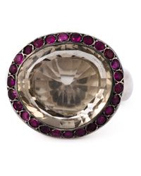 Rosa Maria | Purple 'Bette' Ring | Lyst