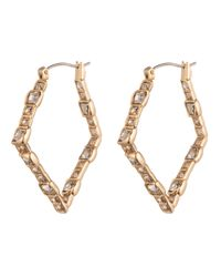 Alexis Bittar - Metallic Crystal Mosaic Small Hoop Earring You Might Also Like - Lyst