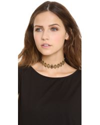 Pamela Love - Metallic Eye Link Choker Necklace - Lyst