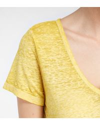 Threads For Thought - Yellow Andrina Tee - Lyst