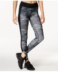 Under Armour | Gray Coldgear® Print Leggings | Lyst