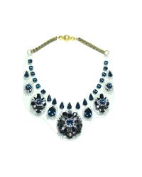 Shourouk - Blue Widow Necklace - Lyst