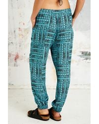 Urban Outfitters | Blue Palolem Beach Trousers | Lyst
