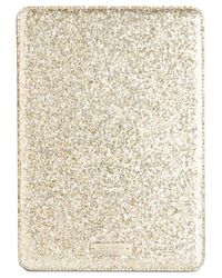 Kate Spade | Metallic Glitter Bug Ipad Mini 2/3 Folio Hardcase - Rose | Lyst
