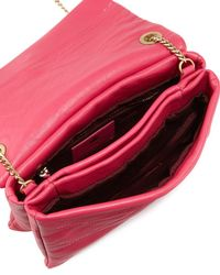 Lanvin - Red Sugar Mini Lambskin Shoulder Bag - Lyst